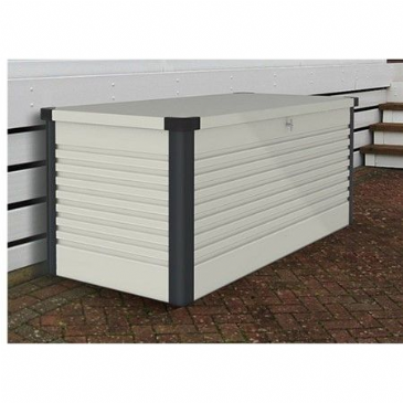 Trimetals SMALL PATIO STORAGE BOX WHITE